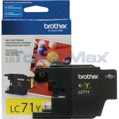 BROTHER MFC-J280W INK CARTRIDGE YELLOW